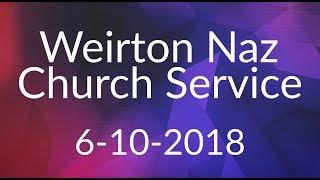 Weirton Naz Church Service