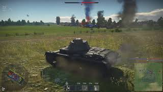 Warthunder PC Multiplayer Gameplay - Tank Battle Gameplay ( German Tanks )