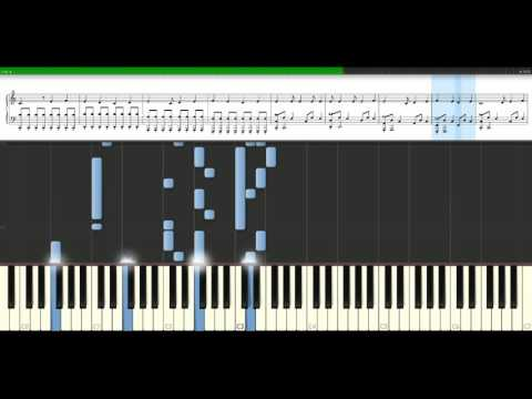 Blink 182  Adams song Piano Tutorial Synthesia