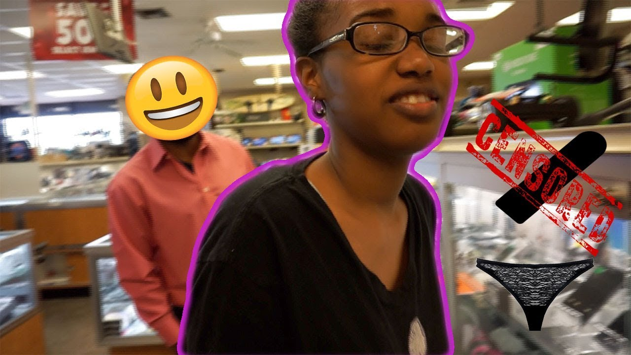 VIBRATING PANTIES PRANK ON WIFE IN PUBLIC!!!! INSIDE PAWN