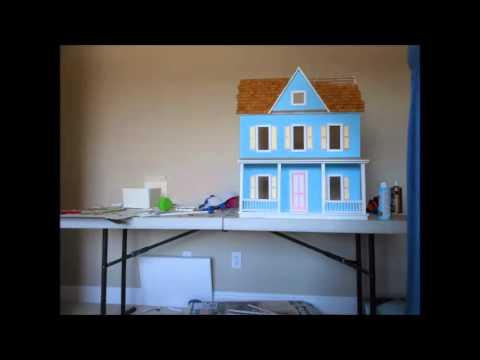 Building A Real Good Toys Vermont Farmhouse Dollhouse Timelapse