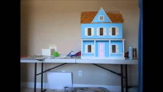 Building A Real Good Toys Vermont Farmhouse Dollhouse Timelapse