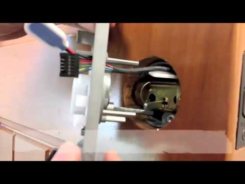 Emtek Electronic Keypad Door Lock Install Glenbrook U