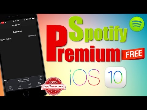 Get Spotify Premium for Free on iPhone, iPad  & iPod touch