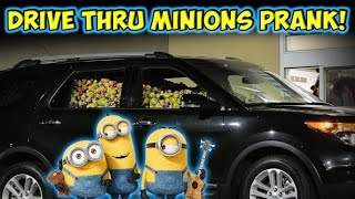 Drive-Thru Minion Car Prank