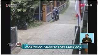 Rekaman CCTV, Aksi Pria Remas Payudara Wanita di Jalanan Sepi - iNews Siang 29/08
