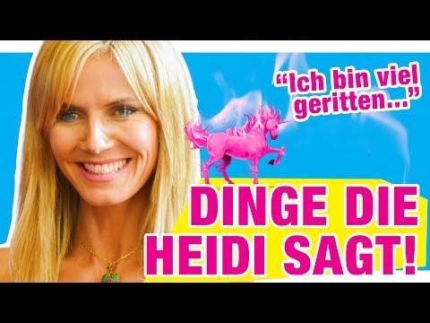 Die besten GNTM Zitate von Heidi Klum!