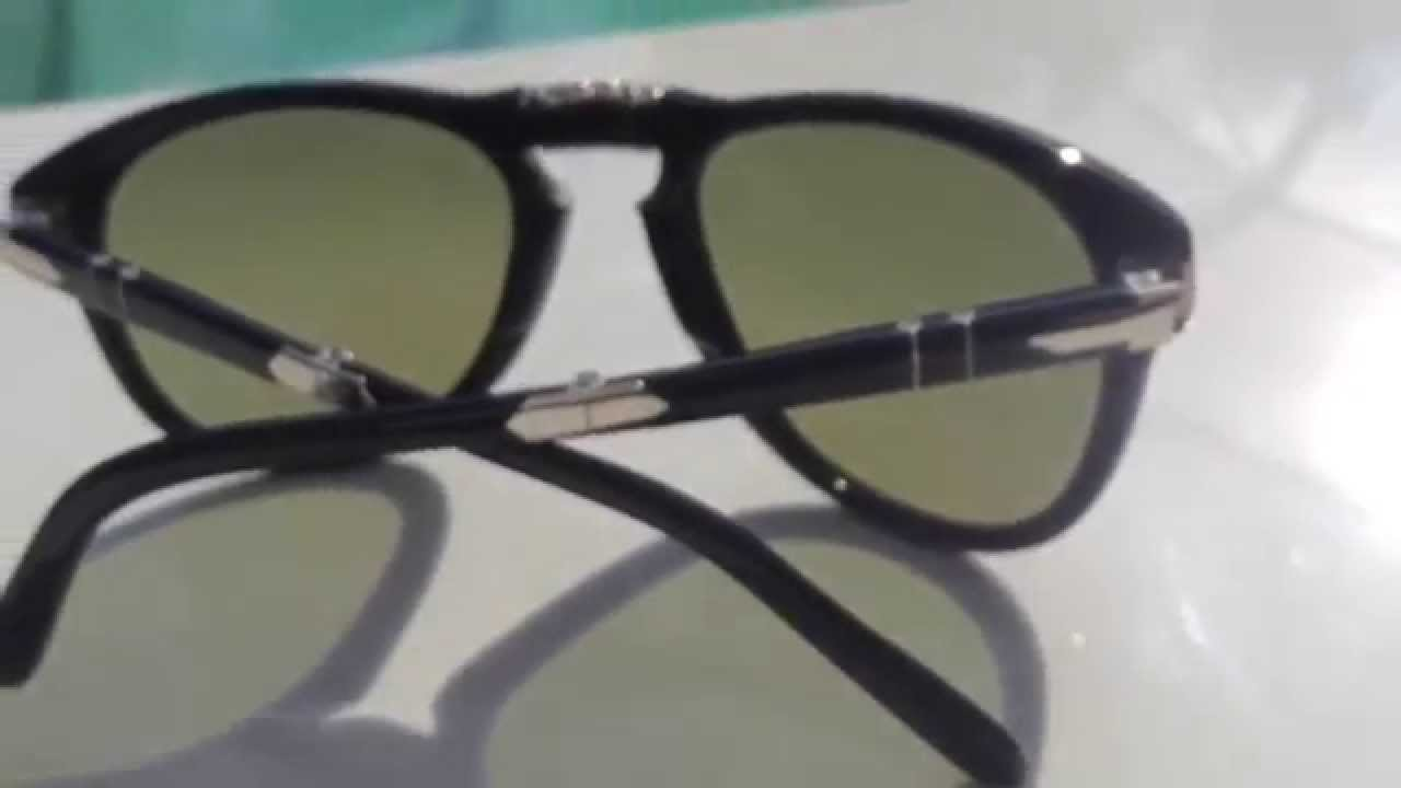 42f3f42124c Persol 714 SM (Steve McQueen) 95 83 Folding Sunglasses - YouTube