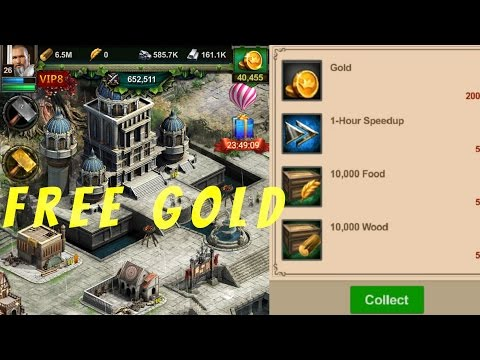 FREE GOLD CLASH OF KINGS