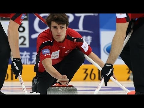 CURLING: SUI-SWE World Men's Chp 2014 -  Playoff 3 v 4