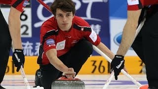 CURLING: SUI-SWE World Men