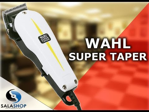 Unboxing Apresentação Máquina De Cortar Cabelo Profissional Wahl Super Taper Original
