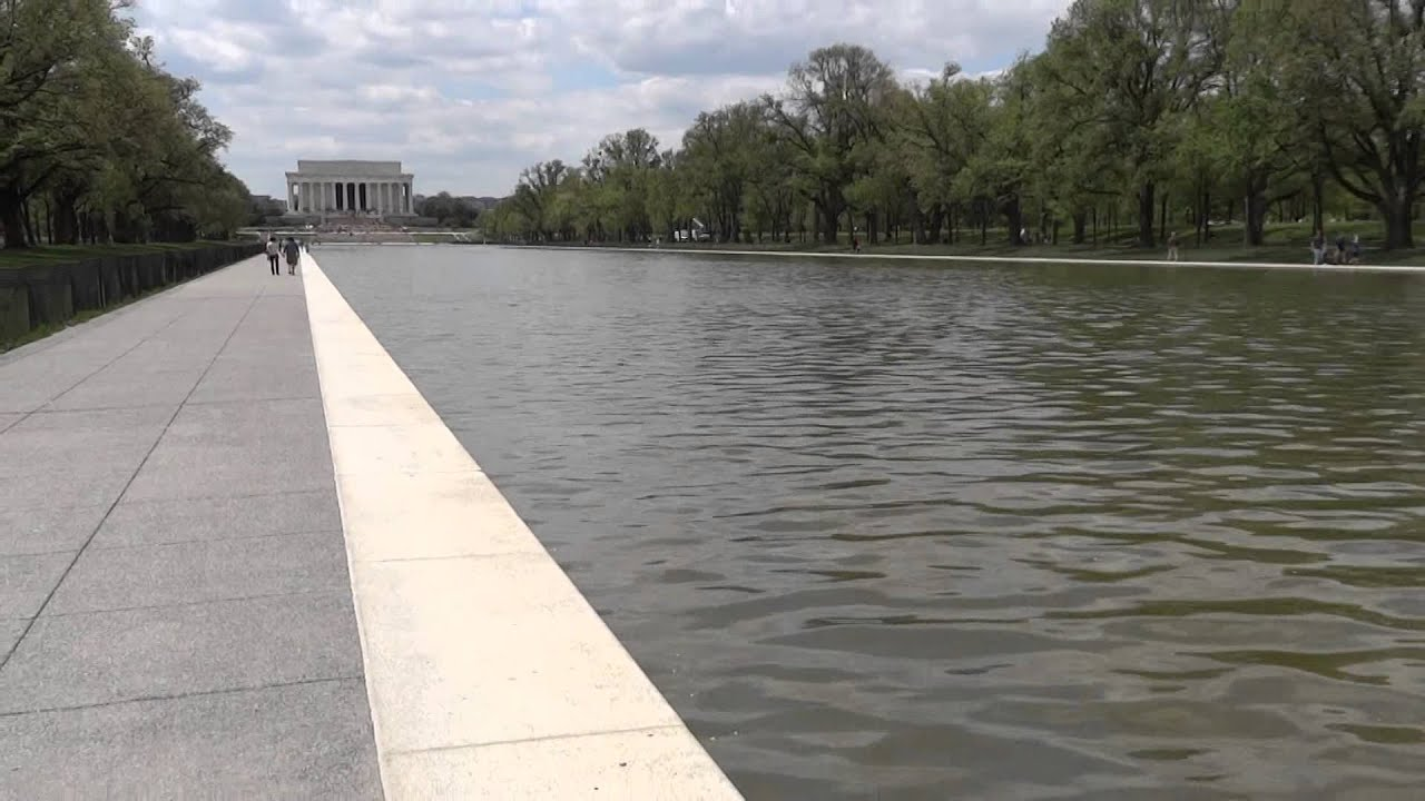 Design Reflecting Pool washington d c lincoln memorial reflecting pool youtube