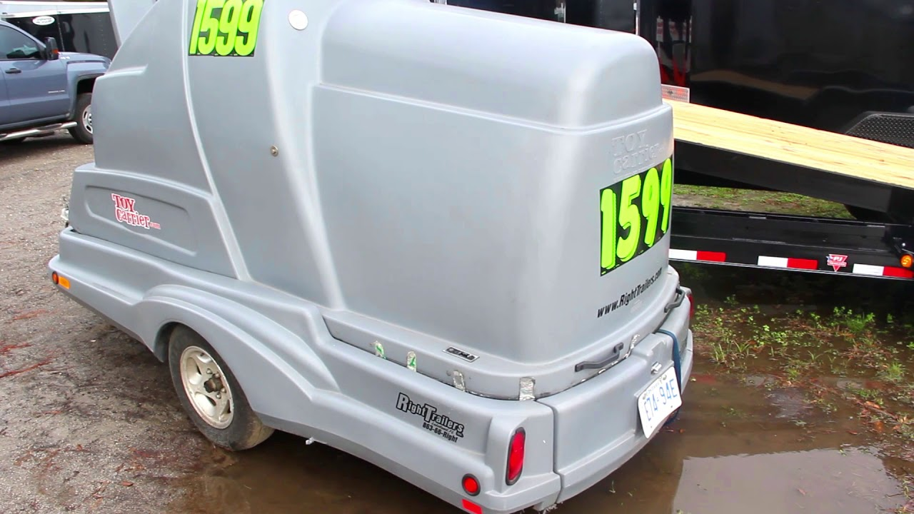 Used Toy Carrier Motorcycle Trailer Youtube