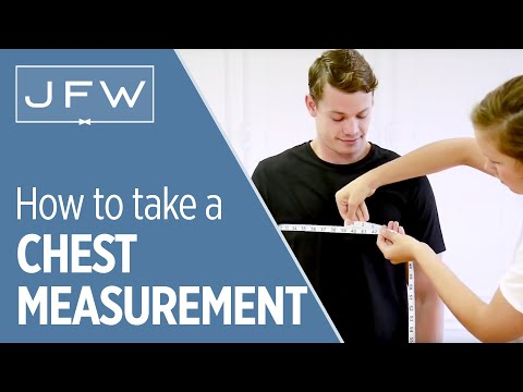 Chest Measurement For Tuxedo And Suit Rentals