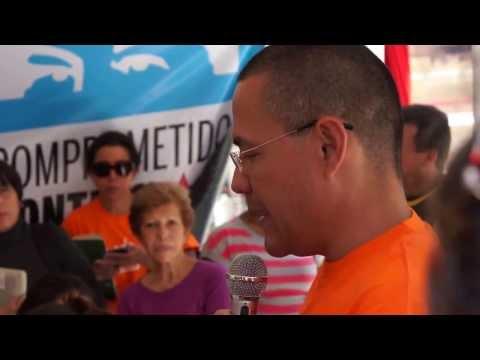 Ernesto Villegas en el encuentro con Misión Nevado y otras organizaciones de protección animal