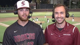 Jake MacNichols Talks Baseball's Shutout Victory over Cal Poly | April 23, 2019