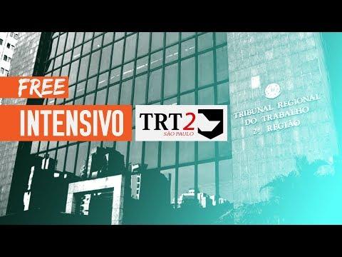 Aula - AO VIVO - Gratuita - Intensivo TRT 2° Região - Priscilla Ferreira - Dir. Processual do Trab.