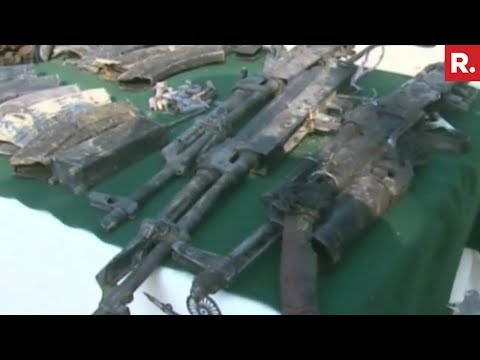 Handwara Encounter: Arms & Ammunition Recovered