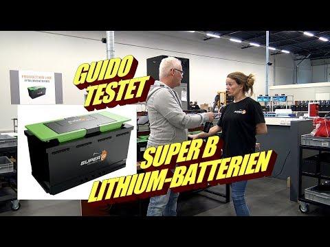 Von GNS extrem getestet: Super B Lithium-Batterien – jetzt nur das Beste für Wohnmobile bei GNS
