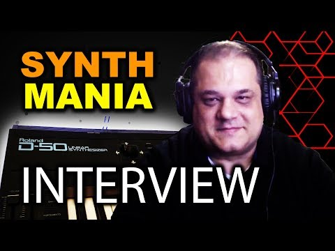 """""""I LOVE SYNTHS!!"""" SynthMania Interview 2/11/2018"""