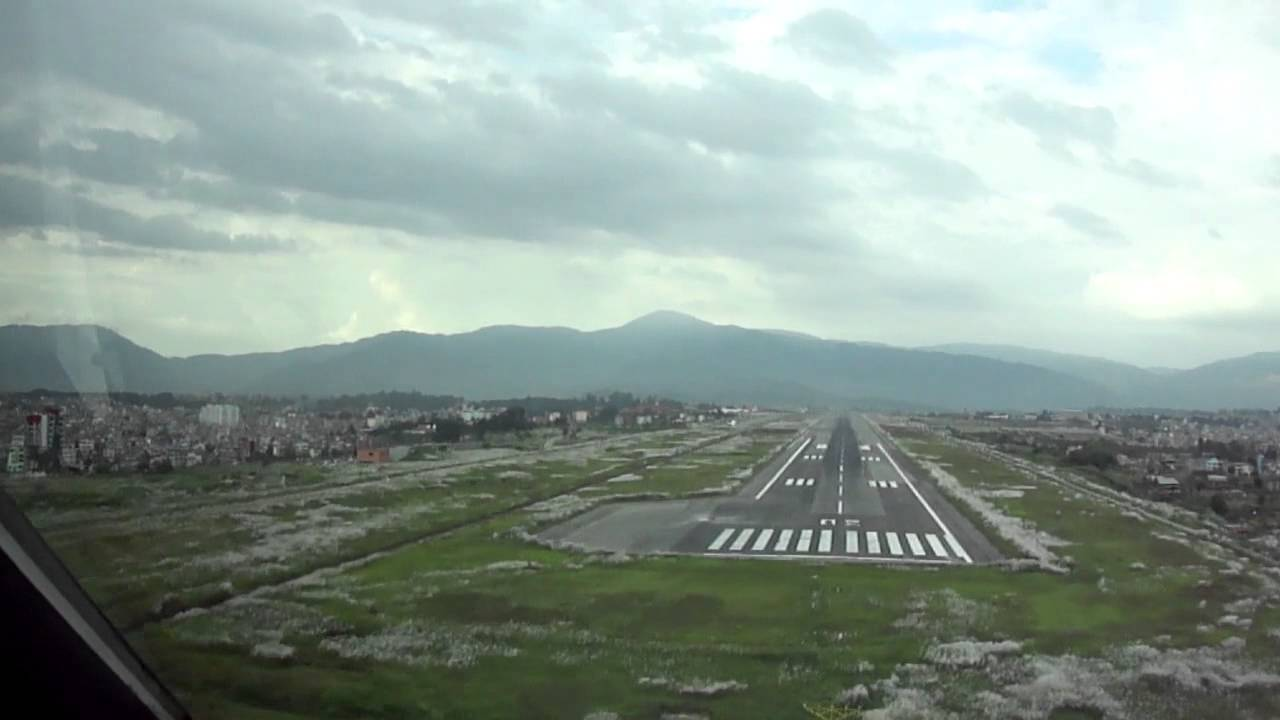 A320 Day Appr Amp Ldg Rwy 02 Kathmandu International Airport