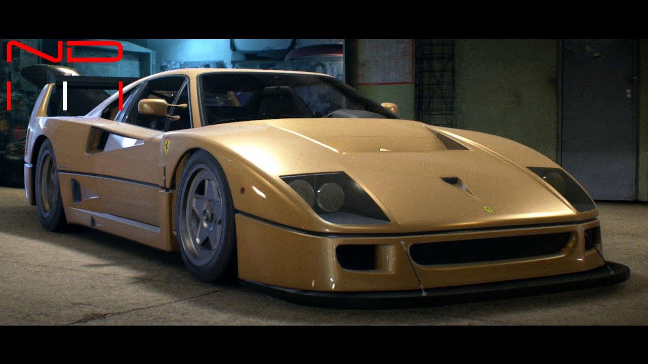 Ferrari f40 1987 modified nfs2015 sound youtube ferrari f40 1987 modified nfs2015 sound vanachro Choice Image
