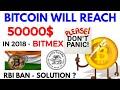 (Hindi) Bitcoin will reach 50000$ | Rbi ban