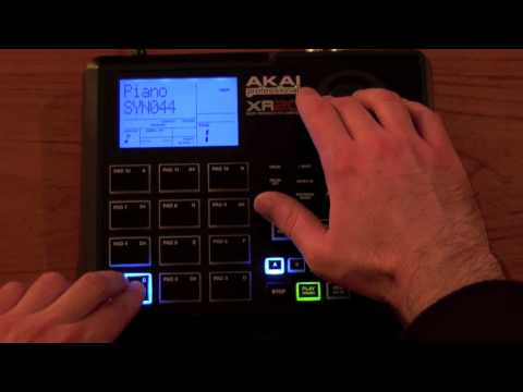 Akai XR20 ( Portable MPC ) Part B - Beat Making Basics
