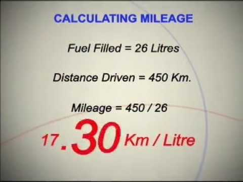 how to calculate mileage of your maruti car youtube