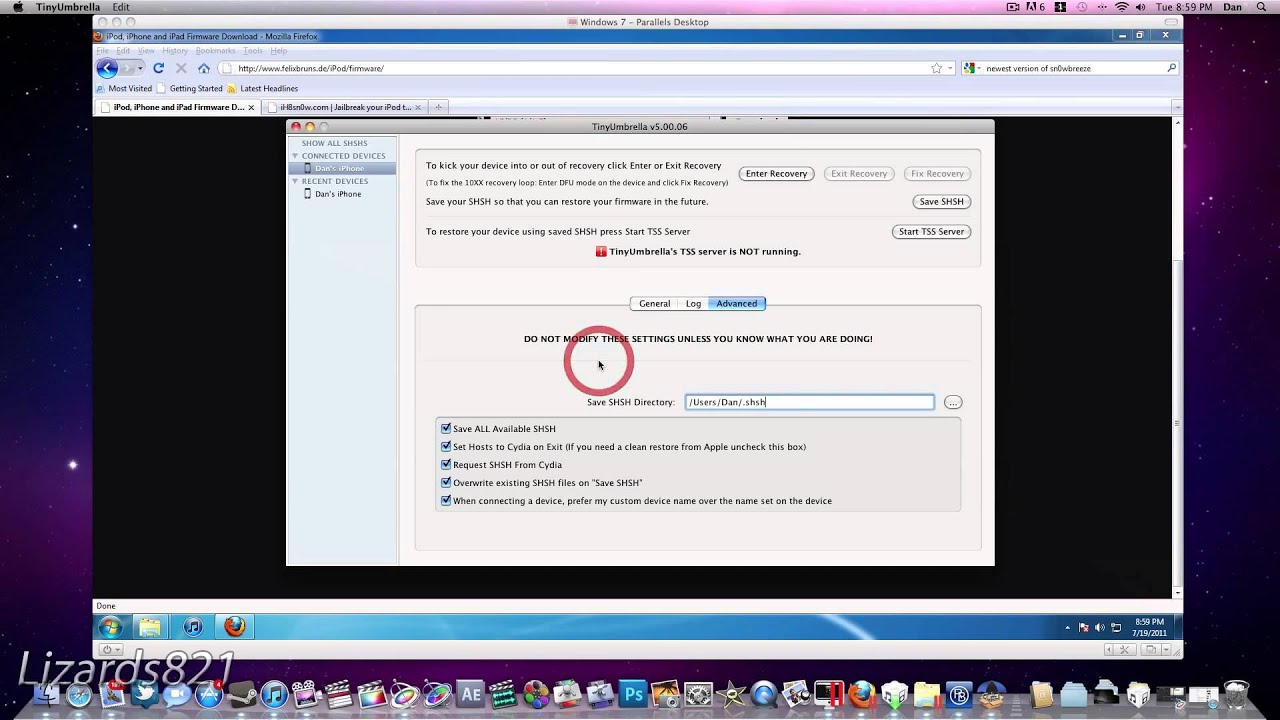 How to Fix Error 3194, 1602/04, 1013/15 When Downgrading From iOS 6 0  Windows