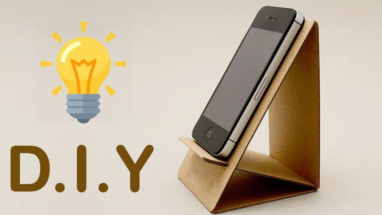 2 DIY Phone Stand | Cardboard Mobile Holder Craft ,Best ...