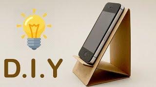 2 DIY Phone Stand | Cardboard Mobile Holder Craft ,Best Out of Waste ,Home Decor ,DIY Hacks