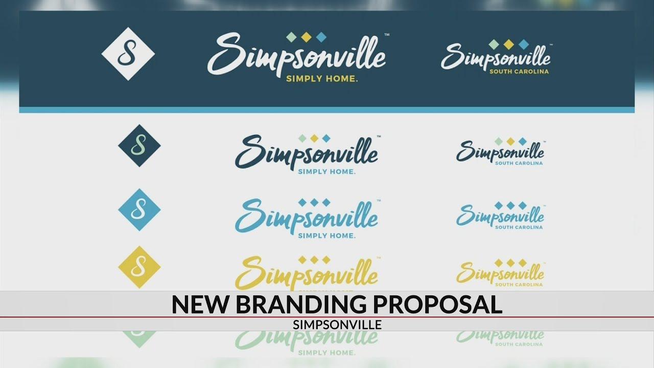 Simpsonville unveils new branding proposal