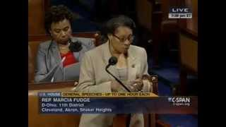 Congresswoman Fudge Speaks Out About Poverty