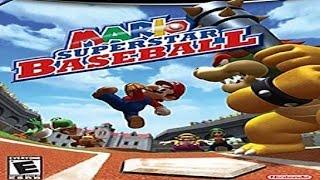 (GC) Mario Superstar Baseball - Mushroom & Yoshi - Playthrough (1/5)