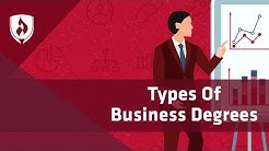 10 Types of Business Degrees: The Beginner's Guide [2018]