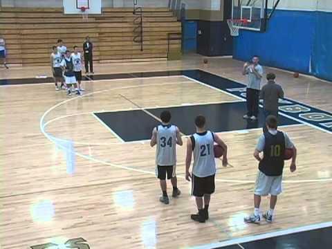 Basketball Drills - V Cut Shooting Drill