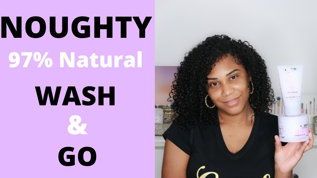 Download Noughty Wash and Go on 3C/4A Curly Hair