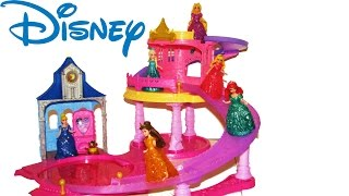 Disney Princess Glitter Glider Castle And Slide Magiclip Princess Cinderella
