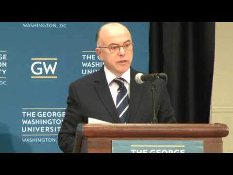 Bernard Cazeneuve, French Interior Minister, Speech at George Washington University