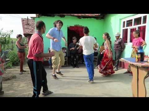 Dancing with Romani people (Gypsies)