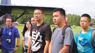 Лётная практика для студентов Международной аэрокосмической школы МАИ