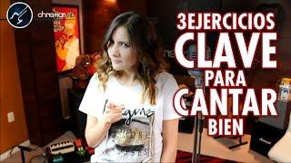 3 Ejercicios CLAVE Para CANTAR BIEN | Nuevas Clases de Canto