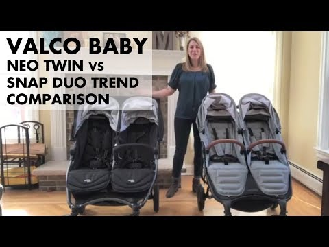 Valco Neo Twin Vs Snap Duo Trend Double Stroller Full Review