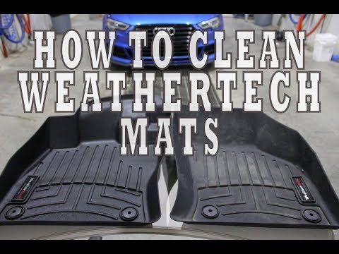 How To Clean and Restore WeatherTech Mats