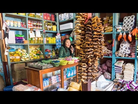 Haa Valley Bhutan - Hoentay Dumplings, ROCK HARD Cheese, and Local Bhutanese Food! (Day 8)