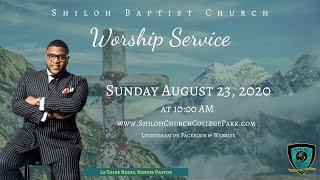 Shiloh Baptist Church: August 23, 2020