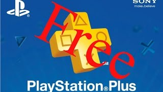 Playstation Plus for FREE Glitch!?(Deutsch)
