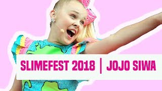 JoJo Siwa Talks Vlog Intro, Double Dare, Music & More | SlimeFest 2018